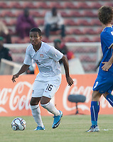 Juan Agudelo. Italy defeated the US Under-17 Men's National Team 2-1 in Kaduna, Nigera on November 4th, 2009.