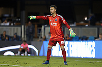 San Jose, CA - Saturday October 06, 2018: JT Marcinkowski during a Major League Soccer (MLS) match between the San Jose Earthquakes and the New York Red Bulls at Avaya Stadium.