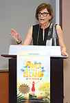 Mary McColl during the ceremony as The chorus of Broadway's Once on This Island receives the twelfth annual Advisory Committee on Chorus Affairs (ACCA) Award for Outstanding Broadway Chorus from Actors' Equity at the Actors' Equity Offices on June 19, 2018 in New York City.