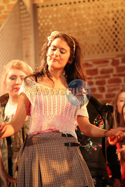 "Colaiste Na Hinse's performing The Musical ""Fame""...(Photo credit should read Jenny Matthews/NEWSFILE)..."