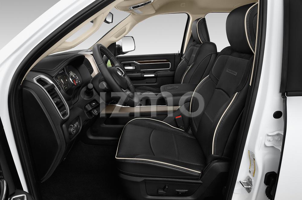Front seat view of a 2019 Ram 2500 Laramie 4 Door Pick Up front seat car photos