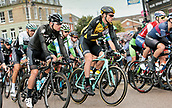8th September 2017, Newmarket, England; OVO Energy Tour of Britain Cycling; Stage 6, Newmarket to Aldeburgh; BOOM Lars of LottoNL-Jumbo and GEOGHEGAN HART Tao of Team Sky