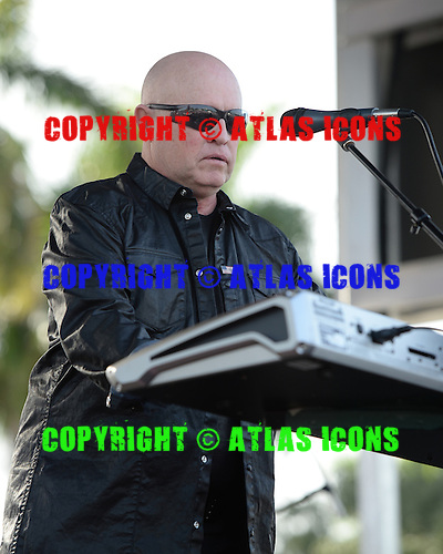 SUNRISE FL - JULY 04:  Mike Score of A Flock of Seagulls performs during the City of Sunrise 4th of July Celebration held at  the BB&T Center on July 4, 2015 in Sunrise, Florida. (Photo by Larry Marano © 2015