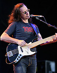 "Geddy Lee of RUSH performs live at the opening night of ""An Evening with RUSH"" Tour held at Hard Rock Casino Pavillion in Albuquerque, New Mexico on June 29,2010                                                                   Copyright 2010  Rod Tanaka / RockinExposures"