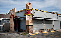 A closed and out of business store in Laredo, Texas, Tuesday, Dec., 8, 2009. ***NEED TO RESEARCH ECONOMY STILL***..PHOTOS/ MATT NAGER