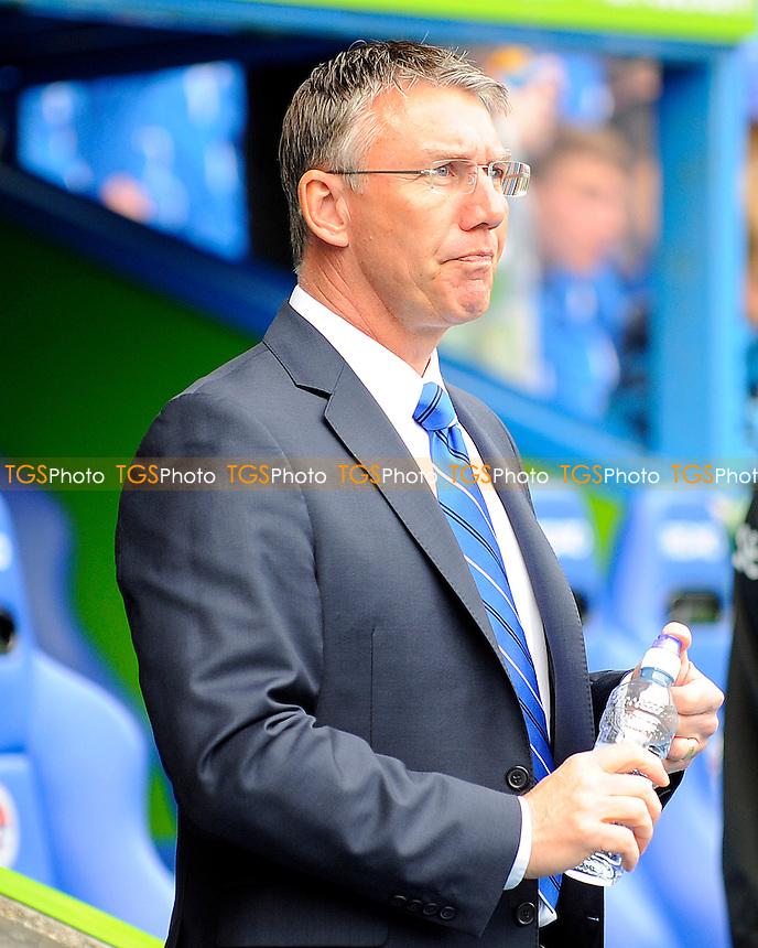 Reading Manager Nigel Adkins - Reading vs QPR - Barclays Premier League Football at the Madejski Stadium, Reading, Berkshire - 28/04/13 - MANDATORY CREDIT: Denis Murphy/TGSPHOTO - Self billing applies where appropriate - 0845 094 6026 - contact@tgsphoto.co.uk - NO UNPAID USE.