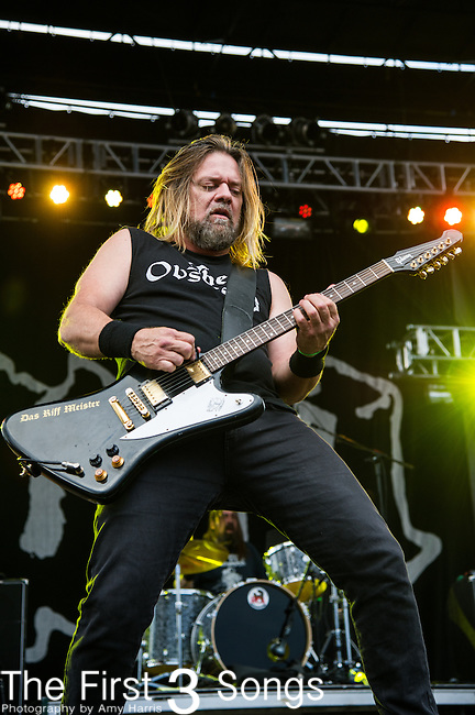 Pepper Keenan of Down performs during the 2014 Rock On The Range festival at Columbus Crew Stadium in Columbus, Ohio.