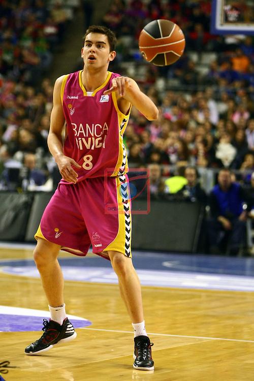 T. Satoransky. R. Madrid vs Banca Civica: 92-84 - Copa del Rey 2012 - Semifinal.