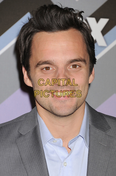 Jake Johnson.arriving at the 2013 TCA Winter Press Tour - FOX All-Star Party at The Langham Huntington Hotel and Spa in Pasadena, California, USA, .January 8th, 2013.   .portrait headshot  grey gray blue shirt .CAP/ROT/TM.©Tony Michaels/Roth Stock/Capital Pictures