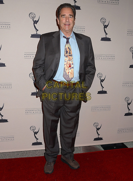 Beau Bridges<br /> The Television Academy presents An Evening Honoring James Burrows at The Academy of Television Arts &amp; Sciences in North Hollywood, California, USA.<br /> October 7th, 2013<br /> full length blue shirt brow suit yellow tie<br /> CAP/ADM/BT<br /> &copy;Birdie Thompson/AdMedia/Capital Pictures