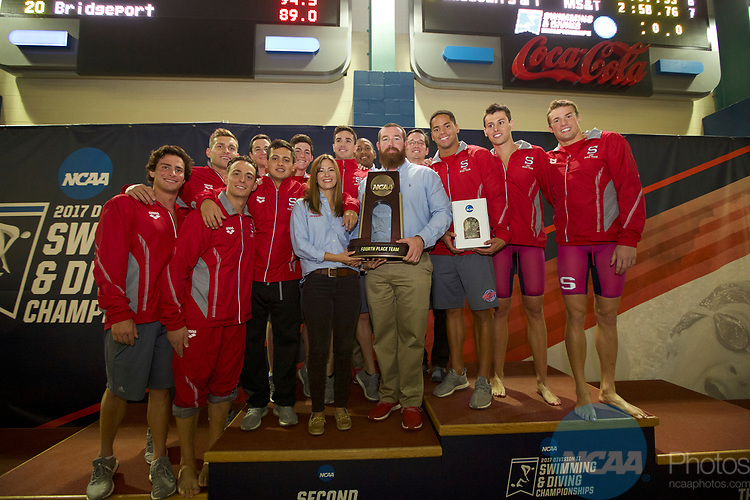 BIRMINGHAM, AL - MARCH 11: Florida Southern placed fourth during the Division II Men's and Women's Swimming & Diving Championship held at the Birmingham CrossPlex on March 11, 2017 in Birmingham, Alabama. (Photo by Matt Marriott/NCAA Photos via Getty Images)