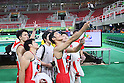 Japan team group (JPN), <br /> AUGUST 3, 2016 - Artistic Gymnastics : <br /> Men's Official Training <br /> at Rio Olympic Arena <br /> during the Rio 2016 Olympic Games in Rio de Janeiro, Brazil. <br /> (Photo by YUTAKA/AFLO SPORT)