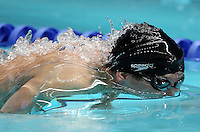 PICTURE BY VAUGHN RIDLEY/SWPIX.COM - Swimming - ASA Masters and Senior Age Group Championships 2012 - Ponds Forge, Sheffield, England - 27/10/12 - Alec Johnson competes in the Men's 50m Butterfly.