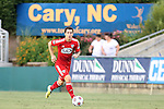 09 July 2014: Dallas' Matt Hedges. The Carolina RailHawks of the North American Soccer League played FC Dallas of Major League Soccer at WakeMed Stadium in Cary, North Carolina in the quarterfinals of the 2014 Lamar Hunt U.S. Open Cup soccer tournament. FC Dallas won the game 5-2.