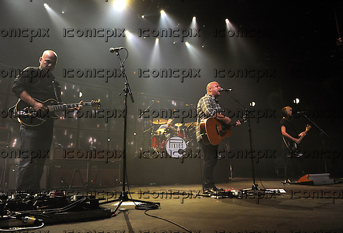 PIXIES - L-R: Joey Santiago, David Lovering Black Francis, Kim Shattuck - performing live on Day 25 of the iTunes Festival at The Roundhouse in London UK - 25 Sep 2013.  Photo credit: George Chin/IconicPix