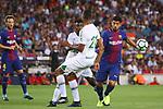 52e Trofeu Joan Gamper.<br /> FC Barcelona vs Chapecoense: 5-0.<br /> Luis Suarez vs Luiz Octavio.
