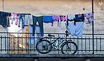 Podw&oacute;rze pomiędzy ulicami J&oacute;zefa i Meisselsa na Krakowskim Kazimierzu.<br /> Courtyard between the streets of J&oacute;zef and Meisels on Krakow's Kazimierz.