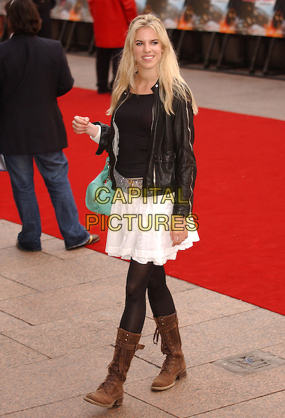 "ALEXANDRA AITKEN.""Mission Impossible 3"" UK Film Premiere - Arrivals,.Odeon Leicester Square, London, England,.April 25th 2006.  .Mission: Impossible III turquoise green bag.Ref: FIN.www.capitalpictures.com.sales@capitalpictures.com.©Steve Finn/Capital Pictures."