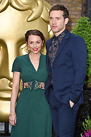 Jessica Ellerby &amp; Nick Hendrix at the BAFTA Television Craft Awards 2017 held at The Brewery, London, UK. <br /> 23 April  2017<br /> Picture: Steve Vas/Featureflash/SilverHub 0208 004 5359 sales@silverhubmedia.com