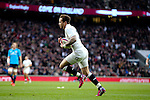 England's Danny Cipriani scoring with his first touch of the ball - RBS 6 Nations - England vs Italy - Twickenham Stadium - London - 14/02/2015 - Pic Charlie Forgham-Bailey/Sportimage