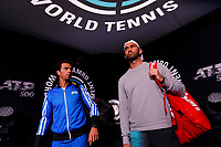 Rotterdam, The Netherlands, 9 Februari 2020, ABNAMRO World Tennis Tournament, Ahoy, Doubles: Jean-Julien Rojer (NED) and Horia Recau (ROU).<br /> Photo: www.tennisimages.com