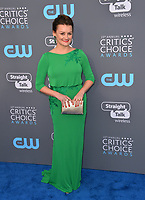 Alison Wright at the 23rd Annual Critics' Choice Awards at Barker Hangar, Santa Monica, USA 11 Jan. 2018<br /> Picture: Paul Smith/Featureflash/SilverHub 0208 004 5359 sales@silverhubmedia.com