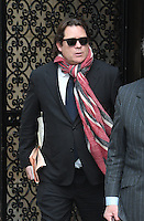 www.acepixs.com<br /> <br /> Janaury 19 2017, New York City<br /> <br /> Arpad Busson leaves Manhattan Supreme Court during the latest round in his custody battle with ex-wife Uma Thurman on January 19 2017 in New York City<br /> <br /> By Line: Curtis Means/ACE Pictures<br /> <br /> <br /> ACE Pictures Inc<br /> Tel: 6467670430<br /> Email: info@acepixs.com<br /> www.acepixs.com