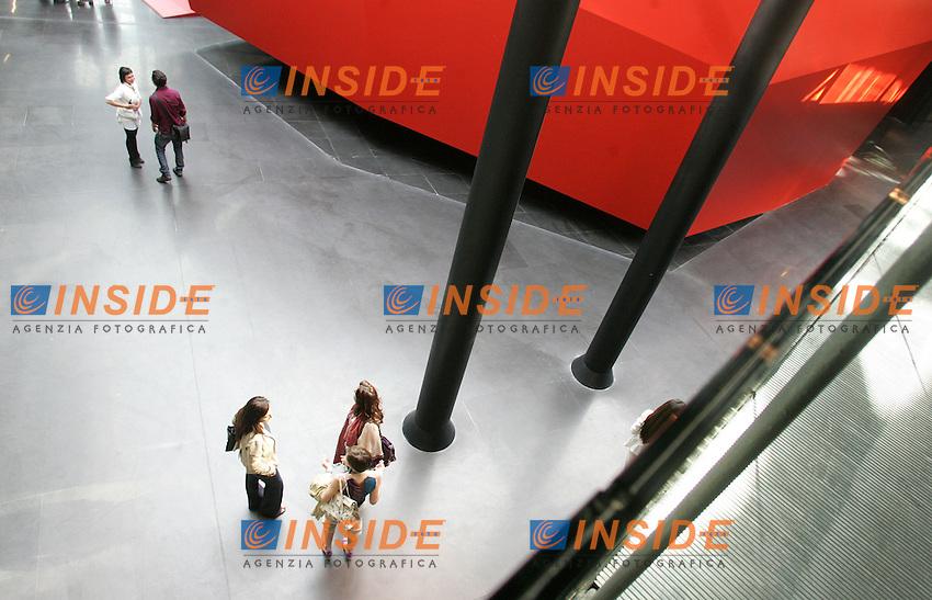 Roma 27/05/2010 Presentazione in anteprima della nuova ala del Macro, Museo d&rsquo;arte contemporanea Roma. <br /> opening of a new conteporary art museum in rome, MACRO.<br /> Photo Samantha Zucchi Insidefoto