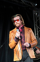 November 13 2017, PARIS FRANCE<br /> the President of France Emmanuel Macron<br /> honors the victims of the 13 november 2015<br /> in the scenes of attacks. Jesse Hughes Singer of the Eagles of Death Metal improvises a concert in memory of victims. # HOMMAGE AUX VICTIMES DES ATTENTATS DU 13 NOVEMBRE 2015