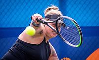 Amstelveen, Netherlands, 19 Augustus, 2020, National Tennis Center, NTC, NKR, National Wheelchair Tennis Championships, Woman's single: Michaela Spaanstra  (NED)<br /> Photo: Henk Koster/tennisimages.com