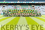 The Kerry team that defeated Galway in the All Ireland Minor Football Final in Croke Park on Sunday.