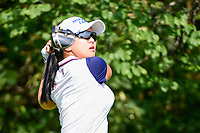 Sei Young Kim (KOR) watches her tee shot on 11 during Friday's round 2 of the 2017 KPMG Women's PGA Championship, at Olympia Fields Country Club, Olympia Fields, Illinois. 6/30/2017.<br /> Picture: Golffile | Ken Murray<br /> <br /> <br /> All photo usage must carry mandatory copyright credit (&copy; Golffile | Ken Murray)