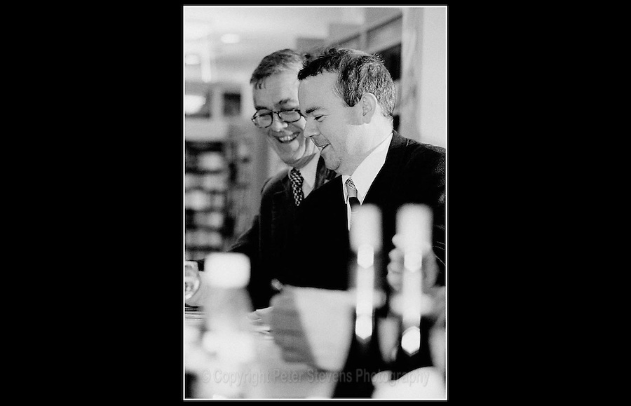 Ian Hislop & Richard Ingrams - Private Eye: book signing event - London