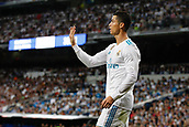 1st October 2017, Santiago Bernabeu, Madrid, Spain; La Liga football, Real Madrid versus Espanyol; Cristiano Ronaldo dos Santos (7) Real Madrid