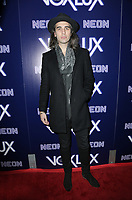 "HOLLYWOOD, CA - DECEMBER 5: Nick Simmons, at the LA Premiere Of Neon's ""Vox Lux"" at ArcLight Hollywood in Hollywood California on December 4, 2018. Credit: Faye Sadou/MediaPunch"