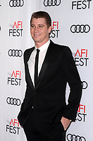 HOLLYWOOD, CA - NOVEMBER 09: Garrett Hedlund at AFI Fest 2017 Opening Night Gala Screening Of Netflix's Mudbound at TCL Chinese Theatre on November 9, 2017 in Hollywood, California. <br /> CAP/MPI/DE<br /> &copy;DE/MPI/Capital Pictures