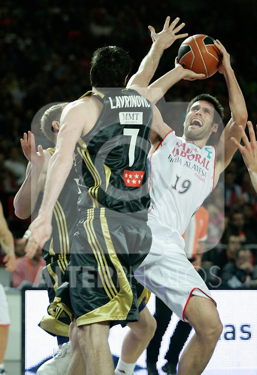 Caja Laboral's Fernando San Emeterio during Spanish Basketball King's Cup match.(ALTERPHOTOS/Acero)