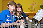 Ewan and Sinead Cotter pictured at the music marathon in St Michael's Church, Killorglin on Saturday in aid of the church and the KDYS.......................