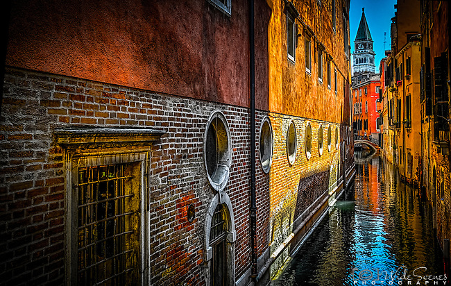 Canal in the San Marco sestiere, Venice, Italy