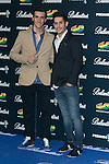 Lluis Salom and Alex Rins attend the 40 Principales Awards at Barclaycard Center in Madrid, Spain. December 12, 2014. (ALTERPHOTOS/Carlos Dafonte)