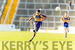 Adrian Spillane Kenmare in action against  Rathmore in the Senior County Football Semi Final in Fitzgerald Stadium on Sunday.