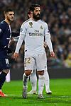 Francisco Alarcon 'Isco' of Real Madrid during UEFA Champions League match between Real Madrid and Paris Saint-Germain FC at Santiago Bernabeu Stadium in Madrid, Spain. November 26, 2019. (ALTERPHOTOS/A. Perez Meca)
