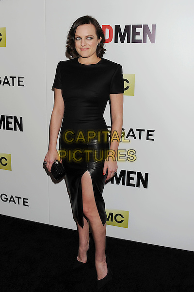 HOLLYWOOD, CA- APRIL 02: Actress Elisabeth Moss arrives at AMC's 'Mad Men' Season 7 premiere at ArcLight Cinemas on April 2, 2014 in Hollywood, California.<br /> CAP/ROT/TM<br /> &copy;Tony Michaels/Roth Stock/Capital Pictures