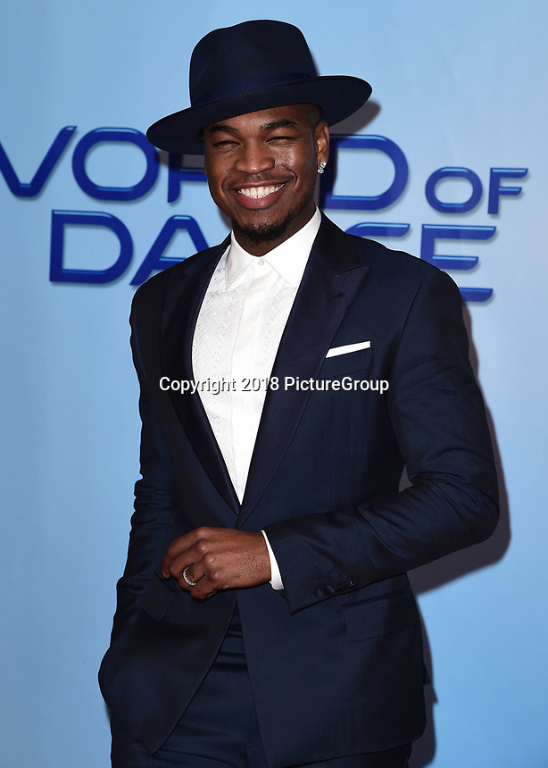 "UNIVERSAL CITY, CA - JANUARY 30:   Ne-Yo at NBC's ""World of Dance"" Red Carpet Event at the Universal Lot on January 30, 2018 in Universal City, California. (Photo by Scott Kirkland/PictureGroup)"