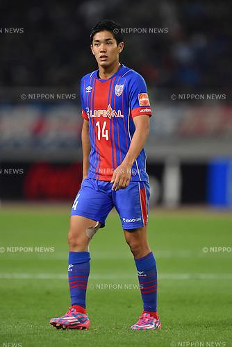 Yoshinori Muto (FC Tokyo), MAY 23, 2015 - Football / Soccer : 2015 J1 League 1st stage match between F.C.Tokyo 0-1 Nagoya Grampus at Ajinomoto Stadium in Tokyo, Japan. (Photo by AFLO)