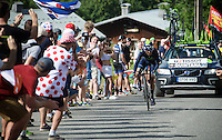 Nairo Quintana (COL/Movistar)<br /> <br /> Stage 18 (ITT) - Sallanches &rsaquo; Meg&egrave;ve (17km)<br /> 103rd Tour de France 2016