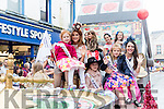 The Rose of Tralee parade passing through Tralee on Sunday.