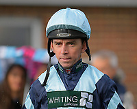 Jockey Leighton Aspell during Horse Racing at Plumpton Racecourse on 4th November 2019