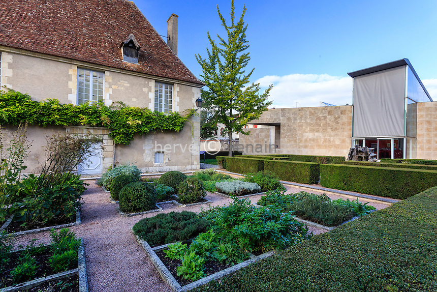 France, région du Berry, Indre (36), Issoudun, musée de l'Hospice Saint-Roch // France, Indre, Issoudun, the Hospice Saint Roch Museum