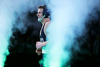 CLEVELAND, OH - MARCH 17: Jason Nolf of the Penn State Nittany Lions is introduced before his 157 pound championship match during session six of the NCAA Wrestling Championships on March 17, 2018 at QuickenLoans Arena in Cleveland, Ohio. (Photo by Hunter Martin/NCAA Photos via Getty Images) *** Local Caption *** Jason Nolf